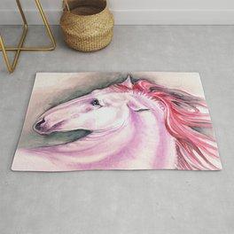 Pink Andalusian Mustang Rug