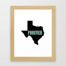 TEXAS FOREVER (Friday Night Lights) Framed Art Print