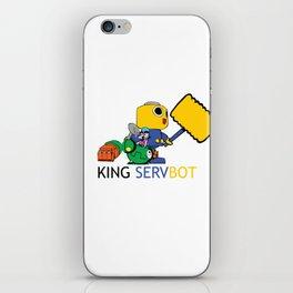 KING SERVBOT iPhone Skin