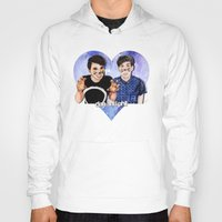danisnotonfire Hoodies featuring DAN AND PHIL by Share_Shop