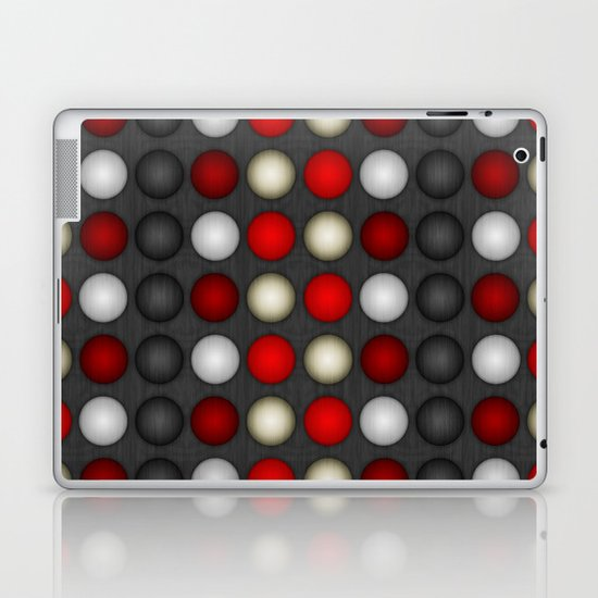 Dark Romance Polka Laptop & iPad Skin