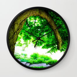 Park idyll Wall Clock