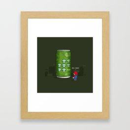 7-up! Framed Art Print