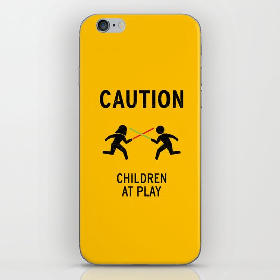 Children at Play iPhone Skin