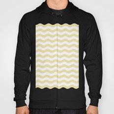 Wavy Stripes (Vanilla/White) Hoody