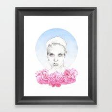 No roses, no skies. Framed Art Print