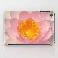 darwin iPad Cases featuring Nymphaea 'Darwin' by Draco Anima