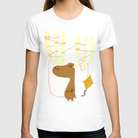 canada T-shirts featuring A moose ing by Picomodi