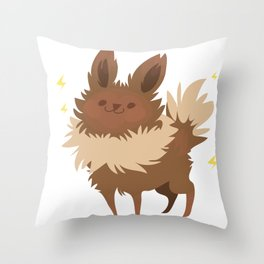 Jolteon Throw Pillow