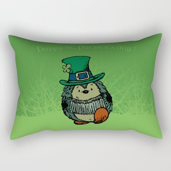 Happy st. Patrick's Day! Rectangular Pillow