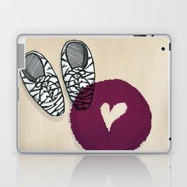 Zebra shoes Laptop & iPad Skin