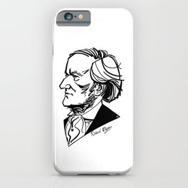 Richard Wagner iPhone Case