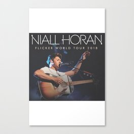 NIALL HORAN FICKER TOUR WORLD 2018 { 1 } Canvas Print