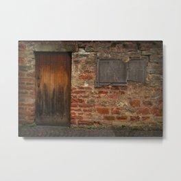 The Broken Frame Metal Print