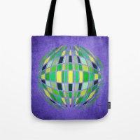 globe Tote Bags featuring globe by Katilinova