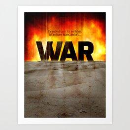 It's War Art Print