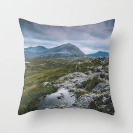 Wester Ross Landscape Throw Pillow