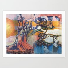 The Easter Bunny Ate My Brother Art Print