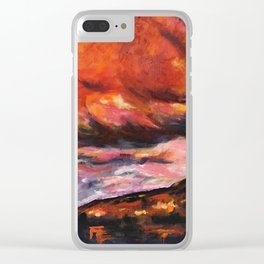 July in New Mexico Clear iPhone Case
