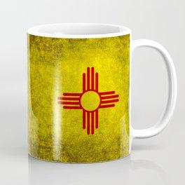 Flag of New Mexico - vintage retro style Coffee Mug