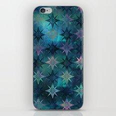 Bohemian Night Skye - Green iPhone & iPod Skin