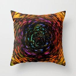 Into The Rainbow Throw Pillow