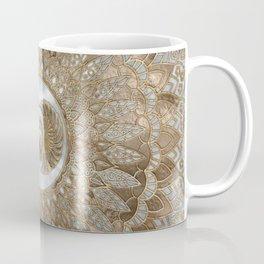 Egyptian Scarab Beetle Pastel Golds Coffee Mug