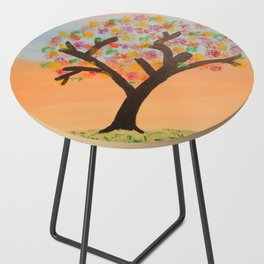 The First Sign of Fall Side Table