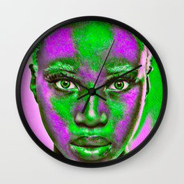 LA Woman Wall Clock