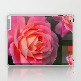 Rose Abstract des 1, Abstract, Pixilate, Geometric, Digital Laptop & iPad Skin