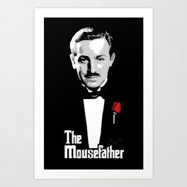 Walt E.Disney, The Mousefather Art Print