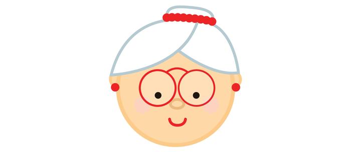 Grandma Christmas Emoji Coffee Mug