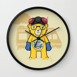 Heisenbear Wall Clock
