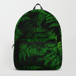 Green Fern Backpack