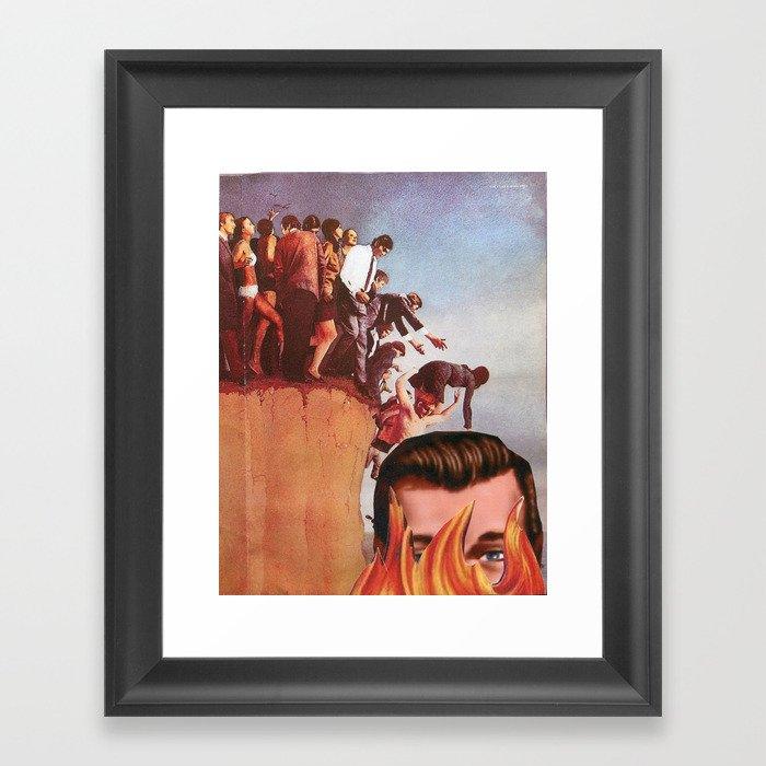 "The Way of J.R. ""BOB"" Dobbs Framed Art Print"