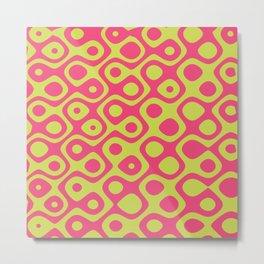 Brain Coral Pink - Coral Reef Series 023 Metal Print