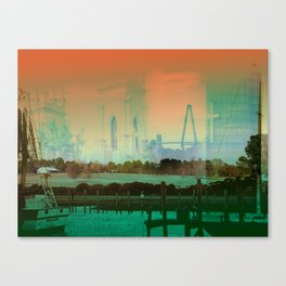 Memory Of A Town Canvas Print