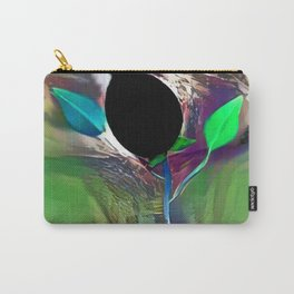 Black Poppy Carry-All Pouch