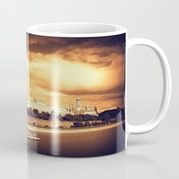 moscow Mugs featuring Moscow Kremlin by Amdis Rain