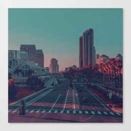 Pop city. Canvas Print
