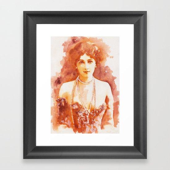 Perls Framed Art Print