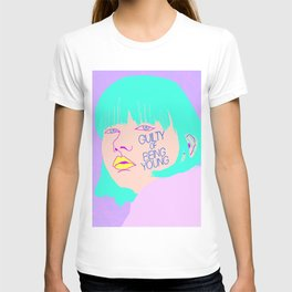 GUILTY OF BEING YOUNG T-shirt
