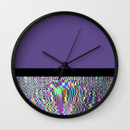 Vibrant Frontiers Wall Clock