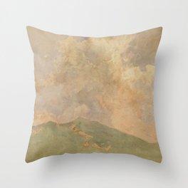 Asai Chū - Cloud (1907) Throw Pillow