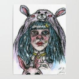 Morgan The Bunny Poster