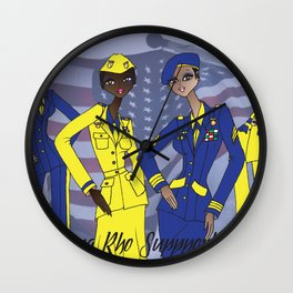 Sigma Supports the Troops Wall Clock