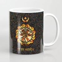 shiva Mugs featuring Shiva  by Khana's Web