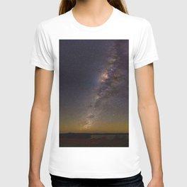 Milky Way Galaxy Star Night Sky Night Time T-shirt