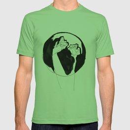 moonlight hands T-shirt