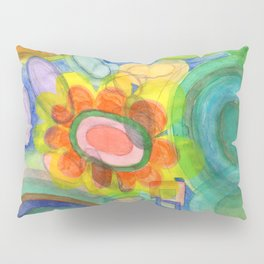 A closer Look at the Flower  Universe Pillow Sham